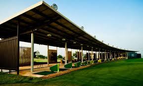 Mái xếp sân golf