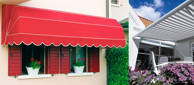 Lắp mái che cho quán cafe tại chung cư Packexim 2- Tây Hồ