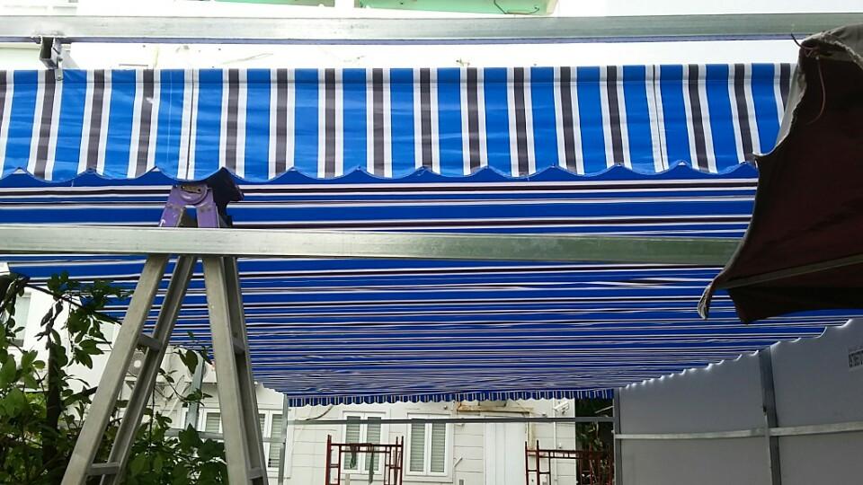 Lắp đặt mái hiên cho căn hộ cho người thu nhập thấp