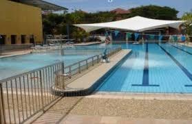 Lắp mái che cho bể bơi tại công viên thể thao Hà Đông