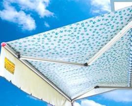 Các loại vật liệu mái xếp che được sử dụng phổ biến