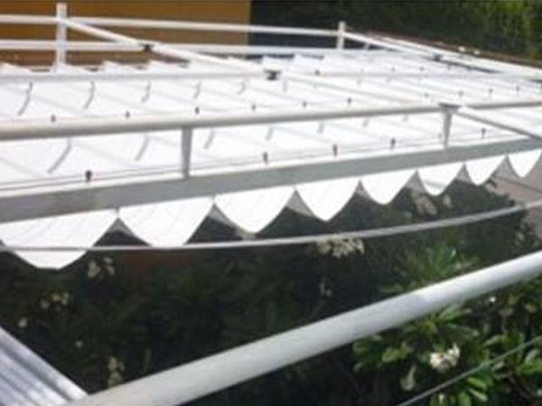 Thiết kế thi công lắp đặt mái xếp quận Tân Bình