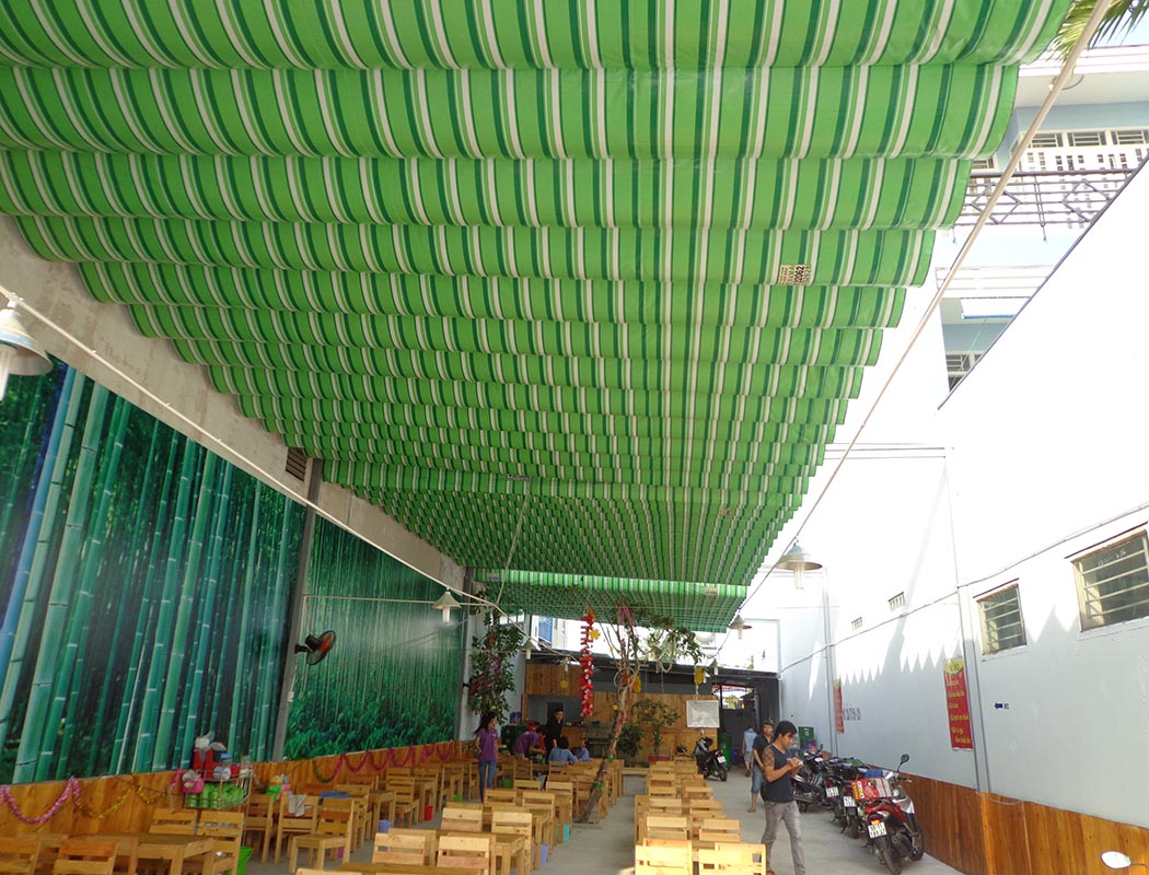 Mái hiên sân thượng