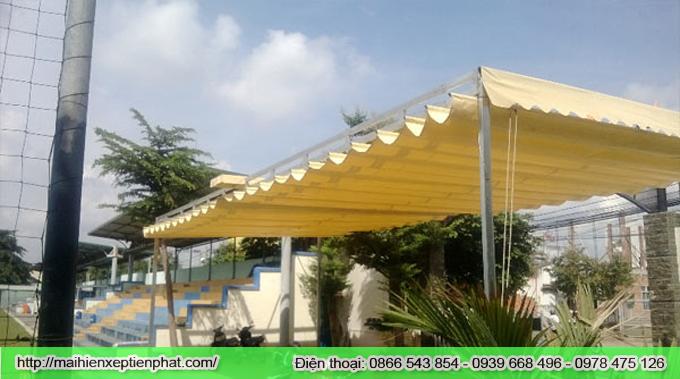 Lắp đặt mái hiên di động tại khu đô thị mới Định Công