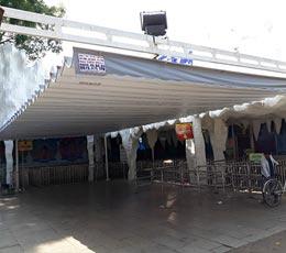 Dự án lắp đặt mái hiên mái xếp di động che nắng mưa quân 7