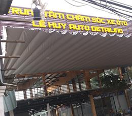 Công trình mái xếp trung tâm chăm sóc xe ô tô Lê Huy