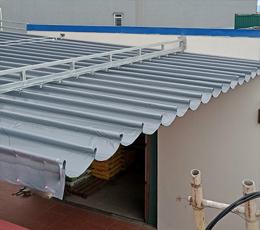 Công trình lắp mái xếp di động quận 8 tphcm mùa covid