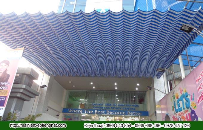 Lắp đặt mái hiên xếp tại thành phố Cần Thơ