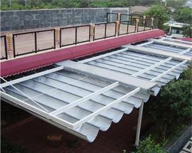 Bảo quản mái xếp trong mùa mưa